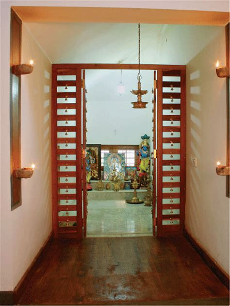 puja room in modern indian pooja room design pooja space pinterest kerala