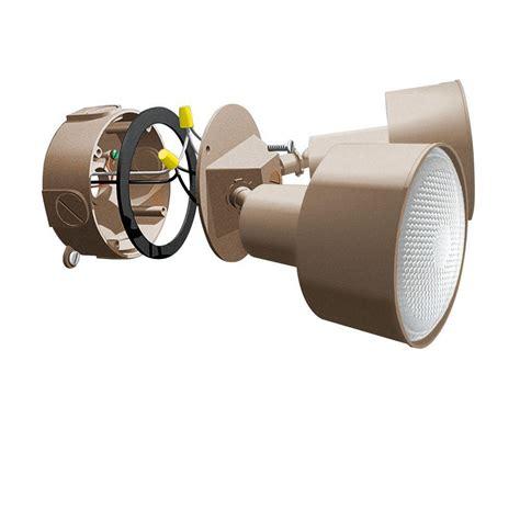 Outdoor Light Kit Dot 2 Light Bronze Outdoor Contemporary Flood Light Kit Cs228br The Home Depot