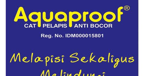 Pelapis Aquaproof galeri bangunan cat pelapis anti bocor aquaproof
