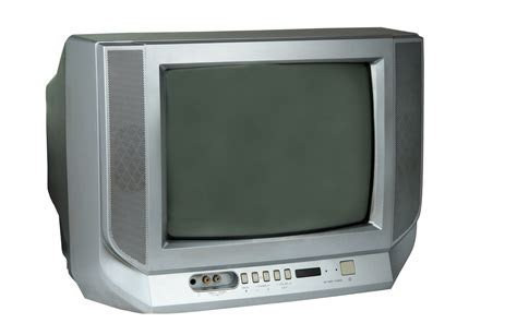 picture of television goodwill turning channel on analog tv donations