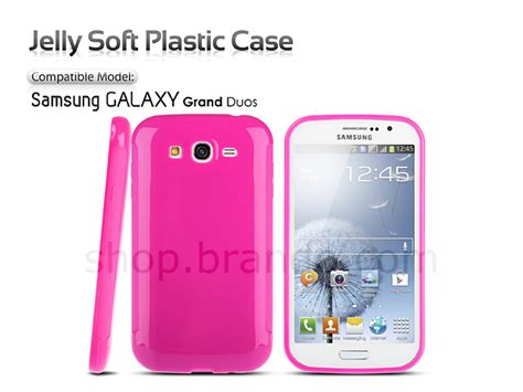 Samsung Grand Duos I9082 Softcase Chrome samsung galaxy grand duos jelly soft plastic