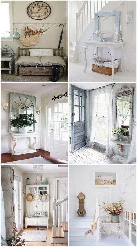 Flur Shabby Einrichten by Sweet Cottage Shabby Chic Entryway Decor Ideas