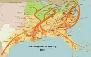 underground railroad maps
