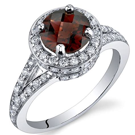 birthstone for january color meaning and jewelries