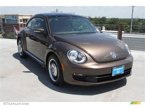brown volkswagen 2013 toffee brown metallic volkswagen beetle 2 5l