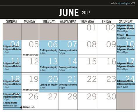 View 2017 Calendar 2017 Calendar Subtle Technologies