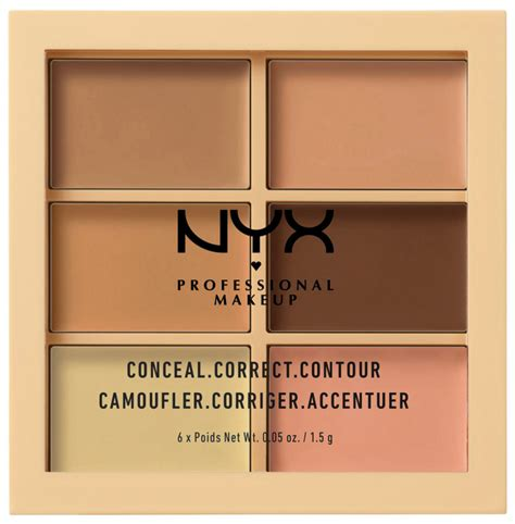 Nyx Conceal Correct Contour Palette nyx professional makeup conceal correct contour palette