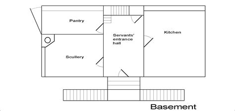 basement floor plans with stairs in middle anglia dolls houses ready to quot move in quot