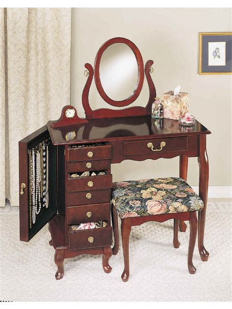 Bedroom Vanity With Jewelry Storage by Bedroom Inspiring Small Bedroom Vanity Designed With