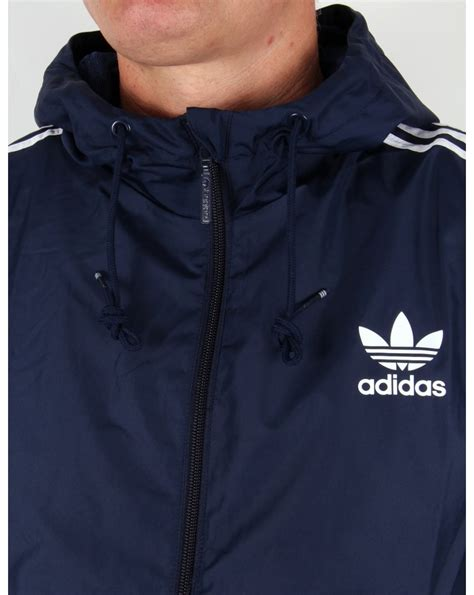 Jaket Outware Navy Original adidas originals itasca windbreaker navy originals windrunnder