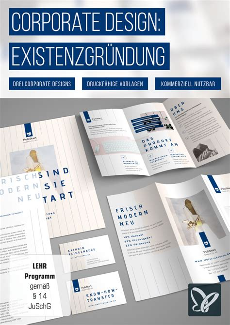Corporate Design Styleguide Vorlage Corporate Design Vorlage Existenzgr 252 Nder Hilfe Psd Tutorials De Shop