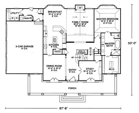 house plans master on main house plans home plans and floor plans from ultimate plans