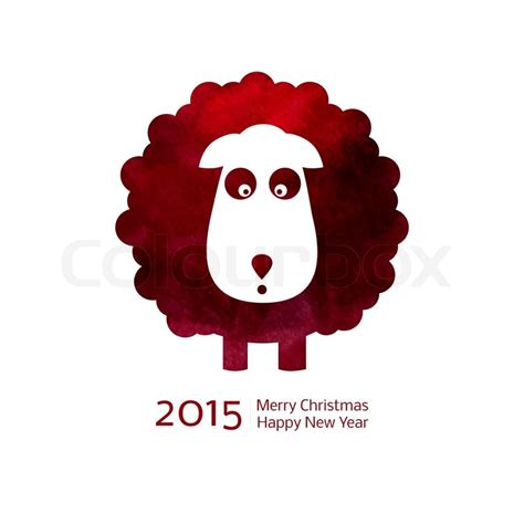 new year ram vector zodiac 2015 year of the sheep ram goat