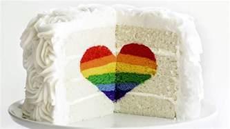 Creative Decorating Ideas Rainbow Heart Cake Today Com