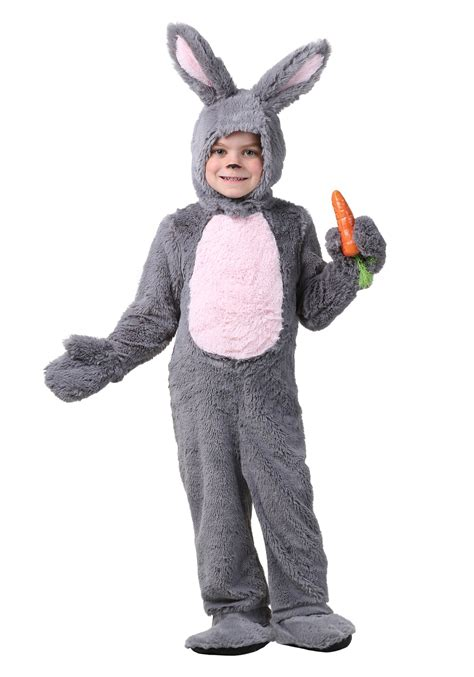 bunny costume toddler grey bunny costume