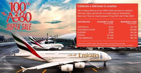 emirates sale emirates named best airline in the world launches