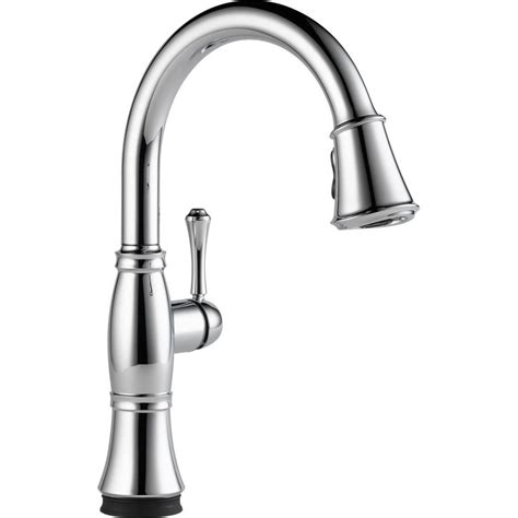 cassidy single handle pull out kitchen faucet chrome delta essa single handle pull down sprayer kitchen faucet