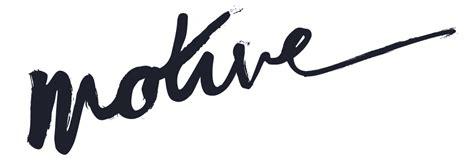The Motive motive brand product story