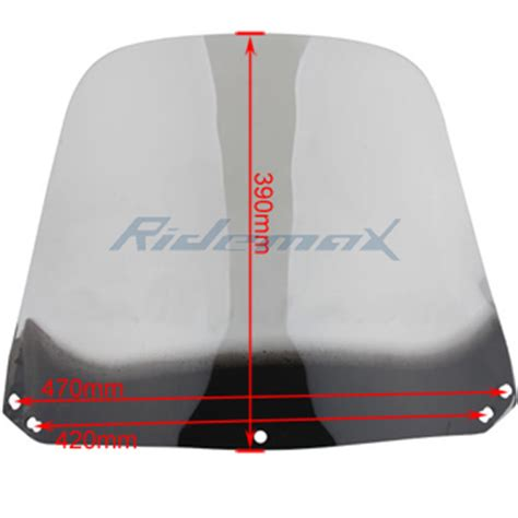Windshield Nmax Carbon Type Eagle windshield for roketa 150cc mc 13 150 and 250cc mc 13 250