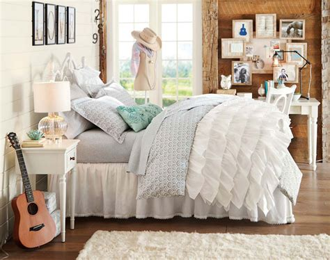 girls teen bedding teenage girl bedroom ideas small spaces storage pbteen