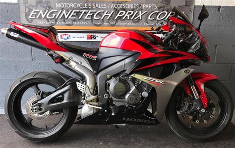 honda 600rr 2007 honda cbr 600 rr motorcycles for sale in florida