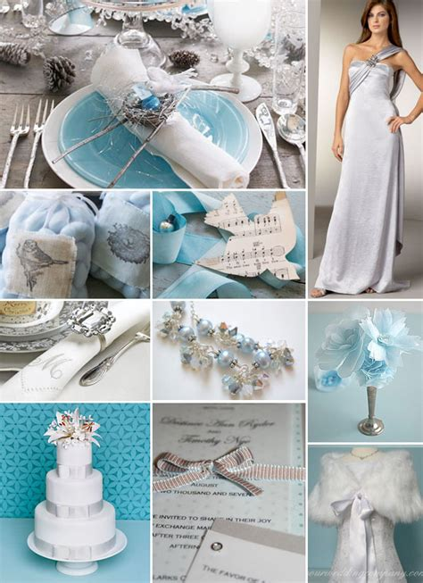 light blue and silver wedding adrian and your own inspiration board