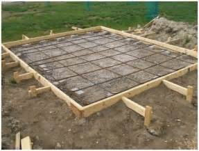 shed foundation construction methods