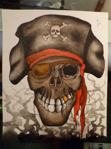 pirate skull tattoo pirate skull tattoos askideas