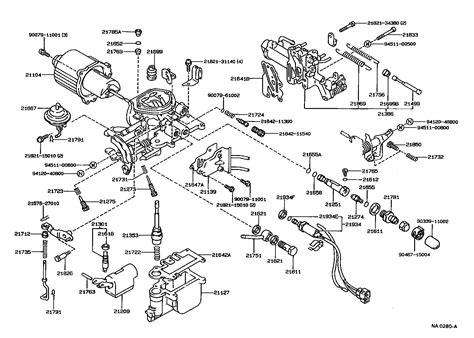1989 Toyota Corolla Carburetor Diagram 22re Fuel Wiring Diagram And Circuit Schematic