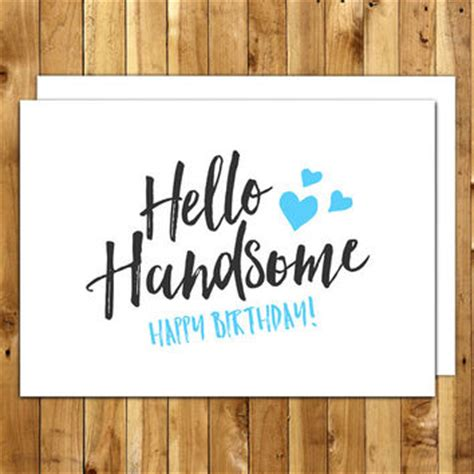printable birthday cards for a boyfriend best happy birthday for him products on wanelo