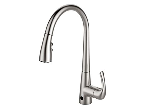 sensate touchless kitchen faucet touchless kitchen faucet build image sensate touchless