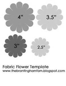 felt flower templates felt flower template flower crafts