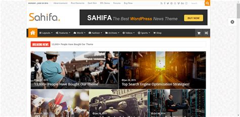 sahifa theme guide starting a personal blog 11 of the best wordpress blog themes