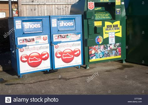 reset online banking tesco shoe and book bank recycling collection containers at a