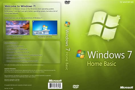 windows 7 home basic dvd by yaxxe on deviantart