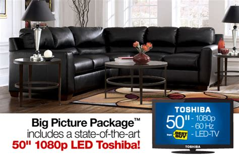 Onyx 1080p onyx sectional big picture package with a 50 quot toshiba