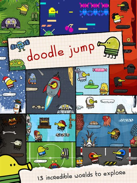 how to do well in doodle jump app shopper doodle jump hd insanely