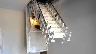 echelle metallique escalier escamotable motoris 201 de grenier
