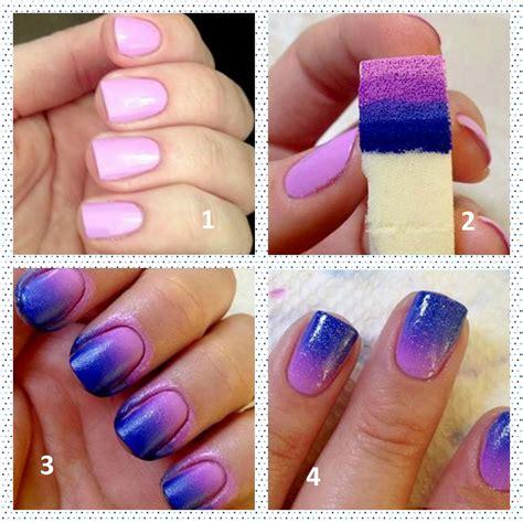 easy nail art with sponge jual nail art ombre sponge beautiful you shop tokopedia