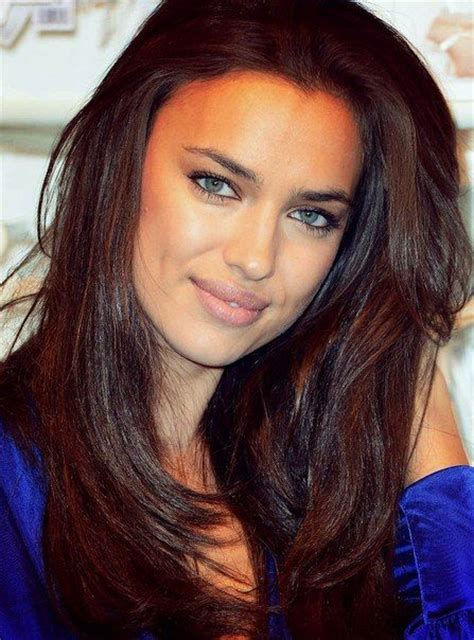 chocolate brown color irina shayk chocolate brown hair color hair
