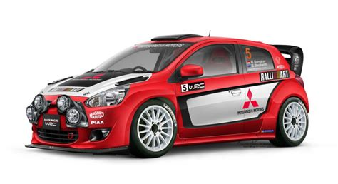 Mitsubishi Mirage Evo Concept Car And Wrc Ralliart