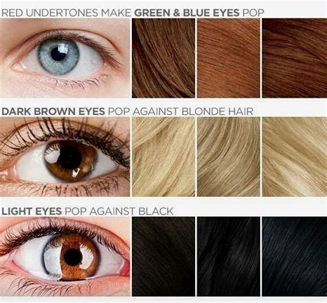 haire color that goes with brown eyes best hair color for blue light brown green and hazel eyes