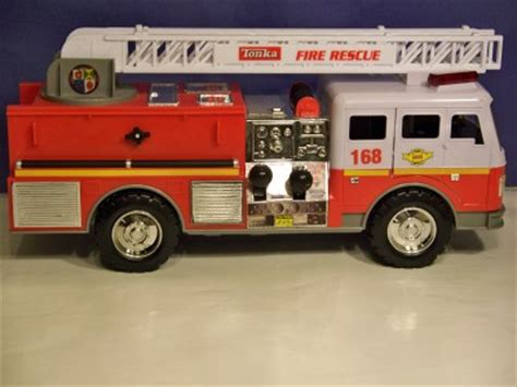 tonka mighty motorized fire truck tonka mighty motorized fire rescue toy truck by hasbro ebay