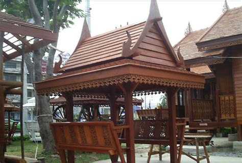 Home Design Company In Thailand by Traditional Thai Style Sala Design And Construction Thai