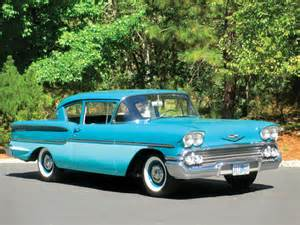 1958 Chevrolet Delray Car Of The Week 1958 Chevrolet Delray Cars Weekly