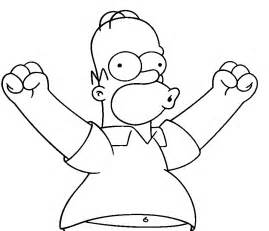 simpsons coloring pages coloring pages to print