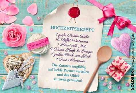 Postkarten Hochzeit by Postkarten Hochzeit Ein S 252 223 Es Hochzeitsrezept