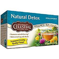 Can Detox Teas Leach Vitamins by Celestial Seasonings Detox Wellness Tea 20 Bags
