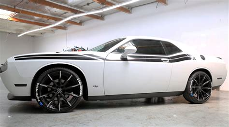 Dodge Charger Tire Stickers