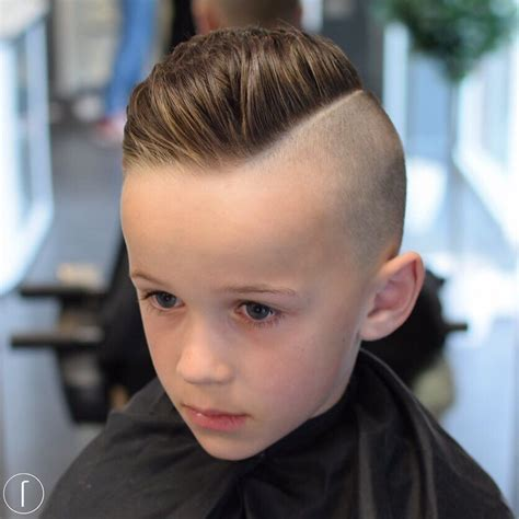 Boy Hairstyle by 25 Cool Haircuts For Boys 2017